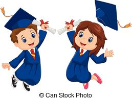 Celebration clipart graduation day Celebration Girl Illustration Cartoon Vector