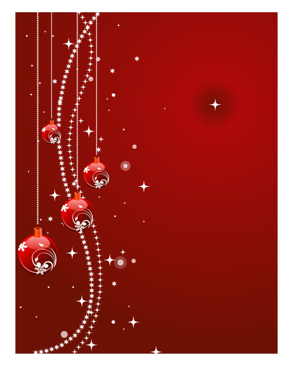 Cards clipart christmas letter Red christmas background red background
