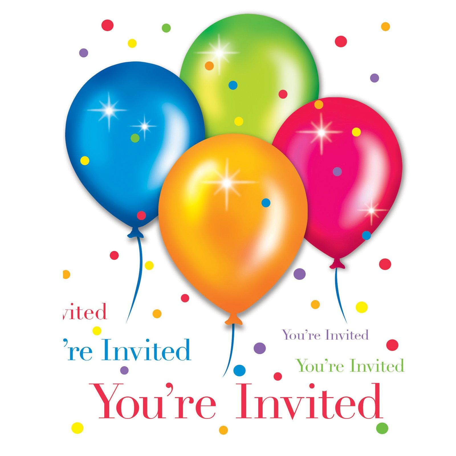 Celebration clipart invitation Best collection Clipart party The