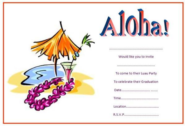 Celebration clipart invitation Invitations templates free graduation graduation