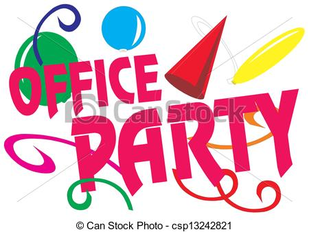 Celebration clipart office party Office Illustrations Stock celebration office