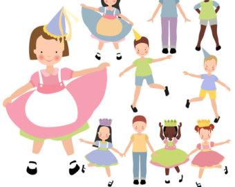 Celebration clipart party person Children download Clipart Celebrations clipart