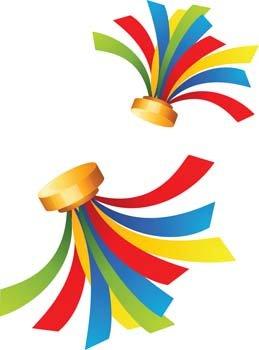 Celebration clipart ribbon Celebration  365PSD Ribbon file