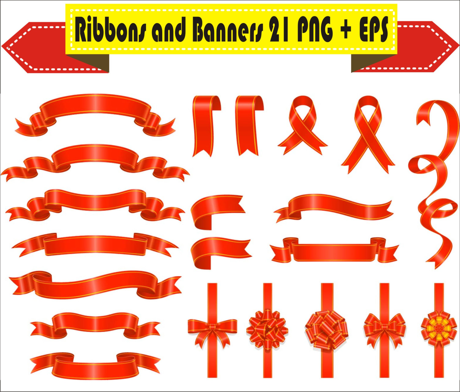 Celebration clipart ribbon File Vector PNG Clipart a