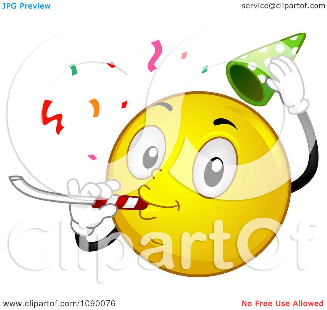 Celebration clipart smiley face Clip Celebration Face Smiley Celebration