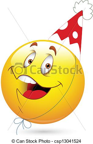 Celebration clipart smiley face Smiley Happy Celebration Face Smiley