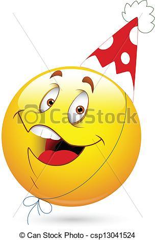 Celebration clipart smiley face Smiley Happy Party Celebration Smiley