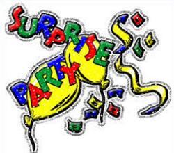 Celebration clipart surprise party Surprise Clipart surprise parties Party