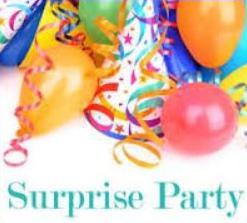 Celebration clipart surprise party Clipart Party Surprise Free Surprise