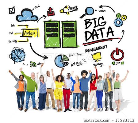 Celebration clipart teamwork Big Data Big Management Diversity
