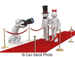 Red Carpet clipart famous person #9