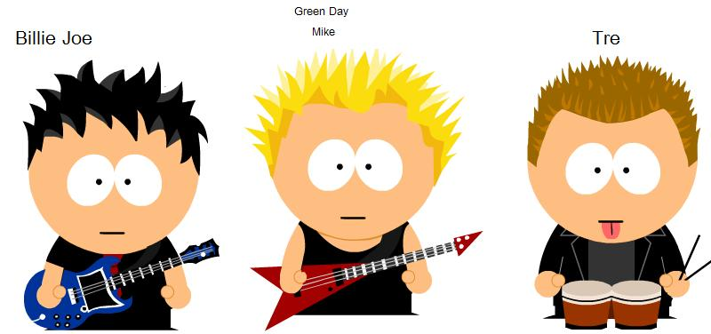 Green Day clipart vegetation Clipart Download Celebrity Celebrity South