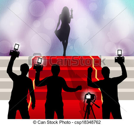 Red Carpet clipart hollywood light Clipart clipart drawings Celebrity Celebrity