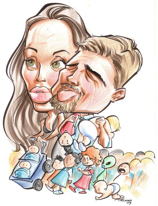 Celebrity clipart angelina jolie Family Angelina Jolie at Vegas