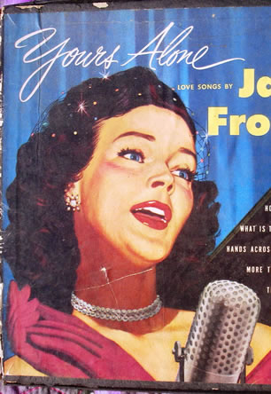 Celebrity clipart lady singer Jane 1950s singer Jane Copyright