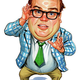 Celebrity clipart question person Caricatures America Celebrity Fine Celebrity