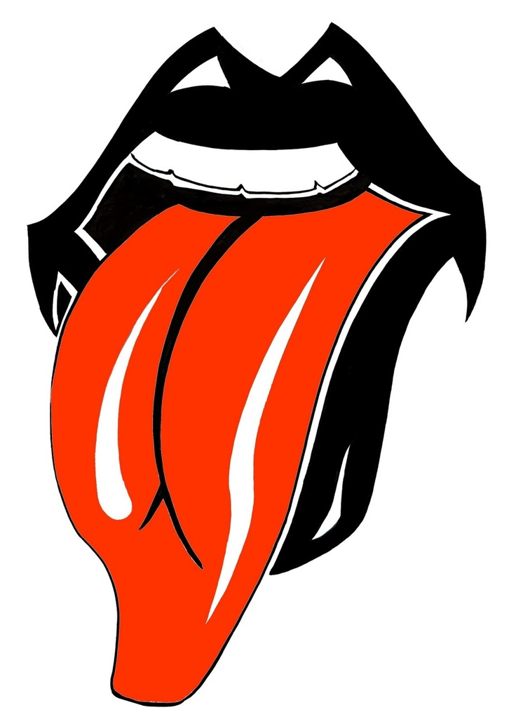 Celebrity clipart rolling stones Pinterest best The Rolling logos
