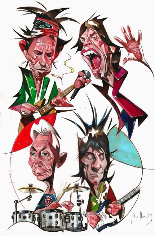 Celebrity clipart rolling stones Rolling Stones