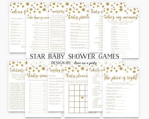Celebrity clipart twinkle twinkle little star Games Shower Star Shower Games