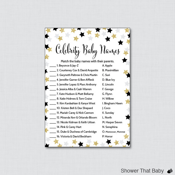 Celebrity clipart well done Baby this Baby Celebrity Shower