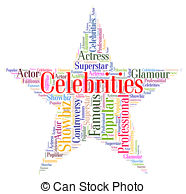 Celebrity clipart word 75 Notorious Renowned royalty