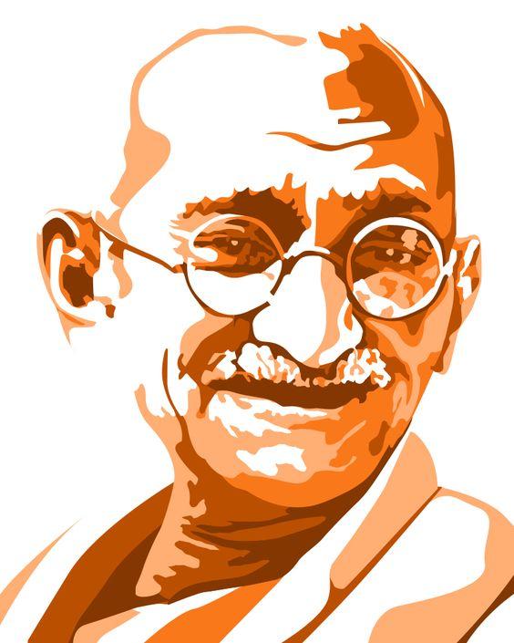 Celebrity clipart work Mahatma Gandhi Life Clipart Clip