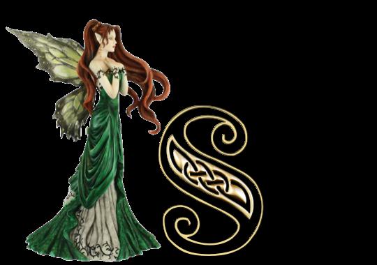Celt clipart angel ALPHABET ~ FAIRY Art Creation