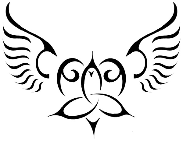 Celt clipart angel Clip Tattoo Free Heart Free