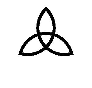 Celt clipart basic Triad Clip vector art
