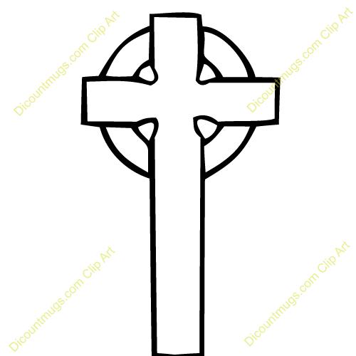 Celt clipart black and white Free Celtic Cross  White