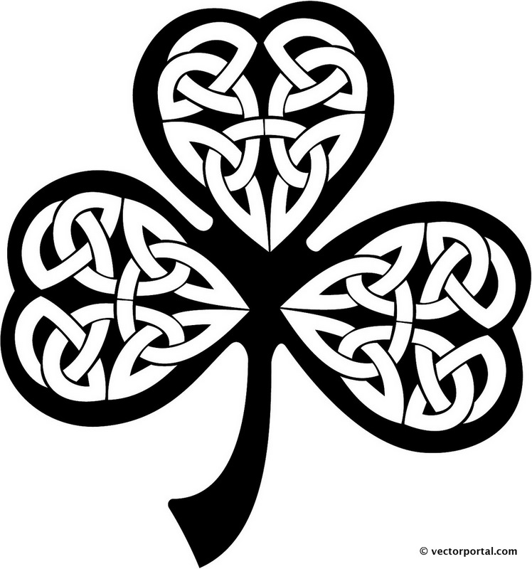 Celt clipart black and white Vector knot Ready  clipart