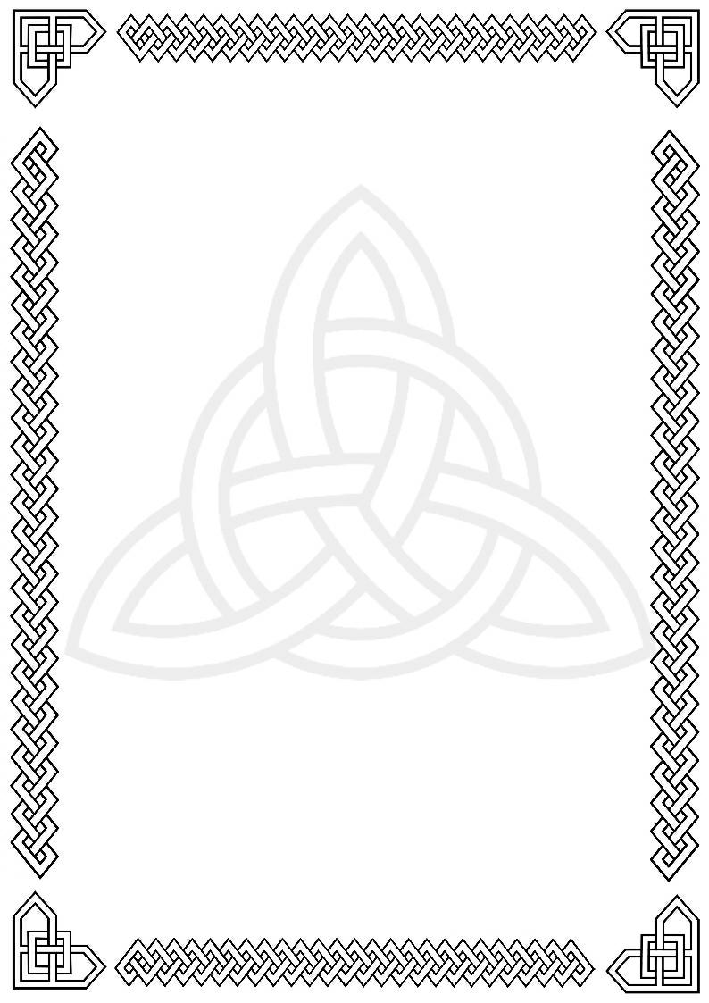 Celtic Knot clipart border Clipart Border Clipart Border Celtic