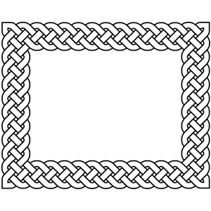 Celt clipart braid Border Plait 4 cliparts 4