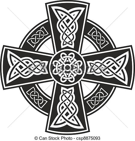 Celt clipart celtic cross Of Vector  Celtic csp8875093