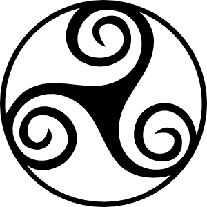 Pentagram clipart vector Triskell Celtic online Designs