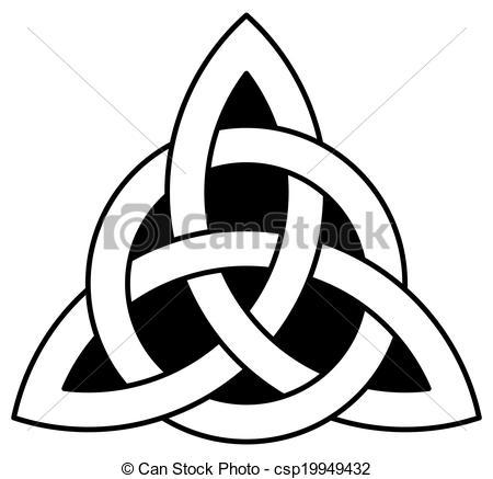 Celt clipart celtic knot (Triquetra) knot Celtic a knot