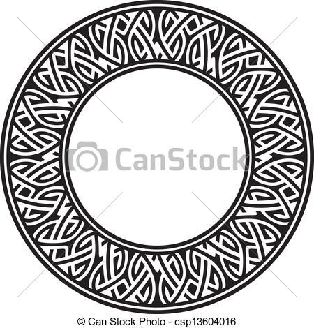 Celtic clipart circle Vector a illustration Art circle