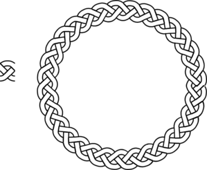 Celt clipart circle 3 vector Border Border plait
