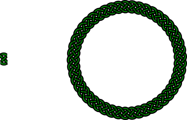 Celt clipart circle Green free Knot Clker at