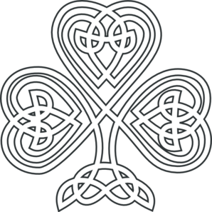 Clover clipart celtic Free Lucky Art with Shamrock