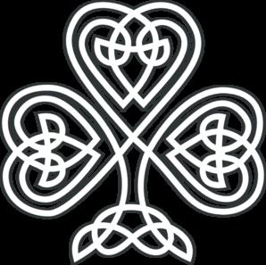 Celtic Knot clipart shamrock Shamrock ibytemedia Clip Shamrock Art