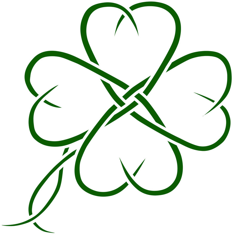 Clover clipart celtic Want of my some I
