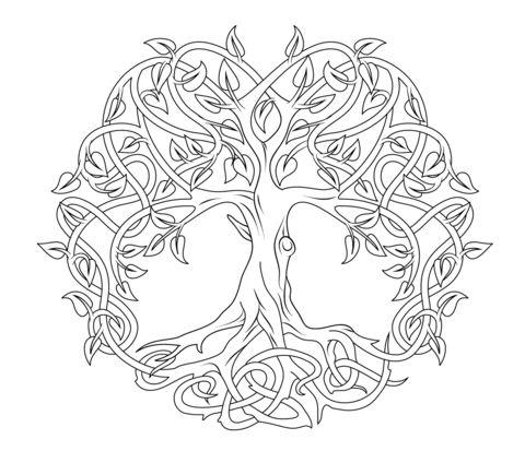 Celt clipart color Tree best images Clipart Pages