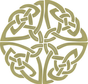 Celtic clipart circle About art knot mosaic on