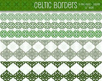 Celt clipart divider Patrick's Downloads Celtic Celtic Borders