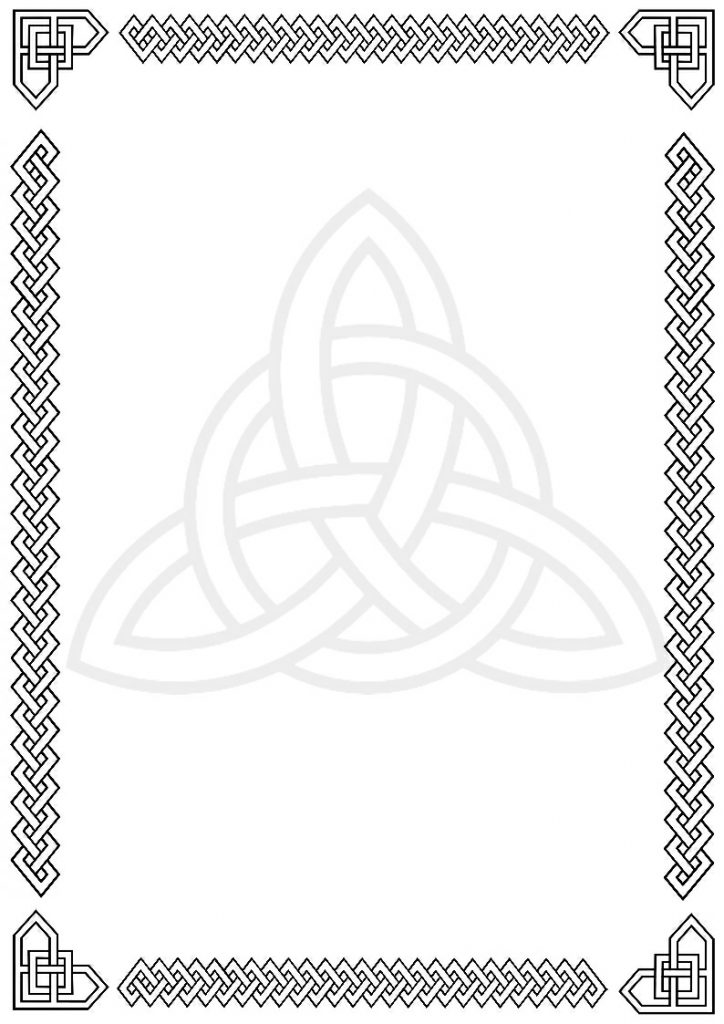 Celt clipart drawing To Clipart Border Design Kids