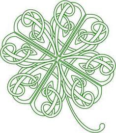 Celt clipart four leaf clover Vapin' Four Clover Clipart Four