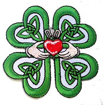 Celt clipart four leaf clover Irish On Claddagh Amazon Lucky