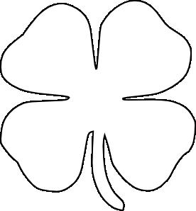 Celt clipart four leaf clover Free Clip Get Clover Art