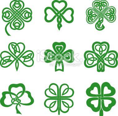 Celtic Knot clipart shamrock Leaf Celtic 25+ ideas Illustration